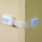 Bazaar 5Pcs Baby Kids Toddler Safety Fridge Drawer Door Adjustable Length Locks