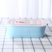 lzzfw Bento Box/Lunch Box, Microwave Bento Lunch Boxes For Kids Adults,Reusable,Lunch Container,blue