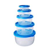 Uminilife Multifunction Food Container Food Storage Box Sets Foods Snack Container with Lids