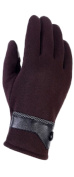 DD.UP Men's Outdoor Ski Waterproof Winter Gloves Touch Screen Gloves for Phone Warm Thick Velour Mittens