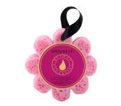 Wild Flower Shaped Bath Sponge Bulgarian Rose Infused by Spongelle