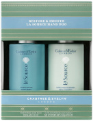 Crabtree & Evelyn La Source Restore and Smooth Hand Duo