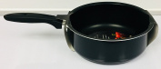 Deluxe 20cm Coloured Saucepan - Black