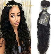 Sunny High Quality 1 Bundle 41cm Brazilian Virgin Hair Weft Extensions Natural Wave Mixed Length Human Hair Weave Extensions 100g
