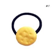Landslide Girls Cute Simulated Biscuits Cookies Shape Hair Clip Headbands Hairpins Kids Hairclip Hair Band Hair Accessories