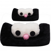 ARAUS Girls Lovely Plush Big Eyes Headdress Headband Hair Hoop Hair Accessories for 1-8 years