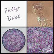 Prima Makeup Fairy Dust Iridescent Multi-tonal Pressed Glitter Eyeshadow Lips