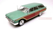 MODELCARGROUP MCG18047 FORD COUNTRY SQUIRE METALLIC GREEN/WOOD 1:18 DIE CAST
