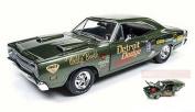 AUTO WORLD AW234 DODGE SUPER BEE 1969 (WALLY BOOTH) DARK GREEN 1:18 DIE CAST
