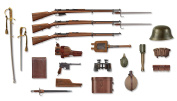 ICM 35699 Figures WWI Turkich Infantry Weapons & Equipment