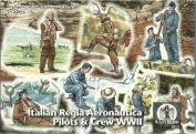 Waterloo 1815 AP055 – Figurines Italian Regia Aeronautica Pilots & Crew