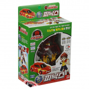 SONOKONG Turning Mecard W Junior Phoenix (Jr) Robot Toy Car Transformer Animal Toy + Superdaddy Highlighter