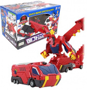 SONOKONG Turning Mecard Transforming Robot Car Mega Dragon Mecarnimal