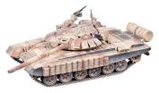 Modelcollect AS72054 Ready Made Model Syrian War T 72BM with Contact 1 Explosi Reactive Armour Main Battle Tank I. Aleppo