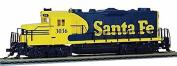 gauge H0 - Diesel Locomotive EMD GP20 Santa Fe Digital with Sound