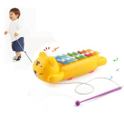 Musical Toys,Bescita 8-Note Xylophone Musical Toys Wisdom Development For Baby Kid