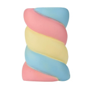 Jumbo Squishies Slow Rising Toy,Y56 Lovely Soft Cute 14.5cm Spun Sugar Squishy Slow Rising Cream Scented Slow Rising Jumbo Squishy Toys Stress Relief Toys Gifts for Kids Adults Birthday Party Favours