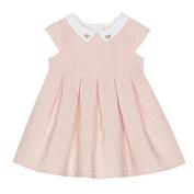J By Jasper Conran Kids Baby Girls' Pink Spot Woven Dress 0-3 Months