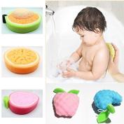 Msmask Natural Bath Shower Sponge Massager Scrubber Skin Cleaning Wash Tool Body Towel