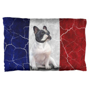 French Bulldog Live Forever Flag Pillow Case Multi Standard One Size