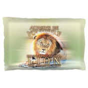 Always Be Yourself Unless Lion Pillow Case Multi Standard One Size