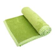 mayebee Luxury Soft Fleece Baby Blanket Green Design 70*100 cm for Babies from Newborn