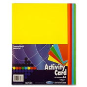 Premier Stationery A4 160 gsm Activity Card - Rainbow