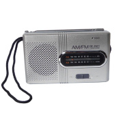 Flashcat New AM/FM Portable Radio BC-R21 Radio for Old Man's Morning Exercise Player
