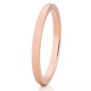 2mm,Rose Gold Tungsten Ring,Women's Tungsten Ring,Tungsten Carbide Ring,Ladies Tungsten