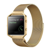 Fitbit Blaze Accessories Watch Band, Mignova Milanese Loop Stainless Steel Replacement Bracelet Strap Band + Metal Frame for Fitbit Blaze Smart Fitness Watch