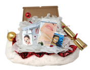 Revitale Beauty Spa 'Look Good' Christmas Hamper Gift Set - Collagen, Cleanse, Hydrate - Face & Neck Masks, Eye Gel Patches, Charcoal Nose Strips