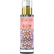 Bielenda Glow Essence Moisturising Make-up Primer 30g Gel Pearls for Dull Fatigue Skid
