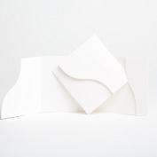 White Matte Pocketfold Invites 144mm x 144mm From Pocketfold Invites LTD