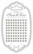 Craft Consortium - Adhesive Pearl Adornments - Always and Forever The Wedding Collection - Adhesive Pearl Heart
