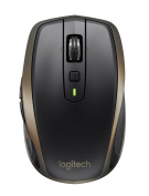 Logitech MX Anywhere 2 AMZ Wireless Bluetooth Mouse for Windows and Mac - Black