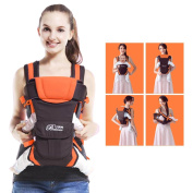 GBlife Adjustable Baby Carrier Backpack 4 Positions Pouch Bag Wrap Soft Structured Ergonomic Design for Newborn Baby Infant Toddlers