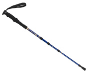Trespass Valeas Trekking Hiking Walking Pole Blue