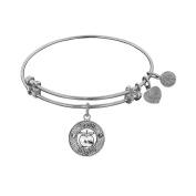 Angelica Brass Teacher Bangle Bracelet 18cm Adjustable