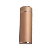 450ml Zinc Alloy Vacuum Insulation Cup ---- Stainless Steel Business Gift Cup Upscale Straight Glass , a