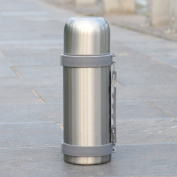 European simple vacuum flask, Stainless steel Vacuum Car Outdoor [portable] Travel vacuum flask Hot water bottle-A 26.5x8cm