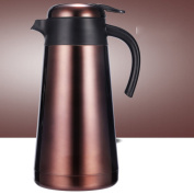 European simple Vacuum flask,Household heat preservation pot Vacuum flask,Large capacity warm kettle Stainless steel vacuum insulated kettle Thermos flask Home coffee pot Hot water bottle-A 14.7x30.7cm