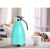 Simple Pure Colour Vacuum Flask 2L Stainless Steel Vacuum Flask Vacuum Vacuum Bottle Home Hot Water Bottle Thermos European Warm Kettle