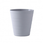 YANLIU Home With A Lidless Trash, Living Room Kitchen Bedroom Bathroom Minimalist Creative Paper Baskets , 001