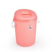 YANLIU Household Living Room Plastic Trash, Kitchen Sanitary Bucket Office Trash