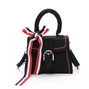 Personality Shoulder Diagonal Cross Handbags Hand-held Scarf Small Square Package