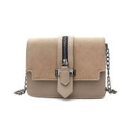 Matte Pu Small Square Clamshell Bag Handbags Korean Version Autumn And Winter Chain Shoulder Diagonal Cross A Small Bag