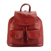 """ Irene"" Backpack in genuine calfskin leather-2068"
