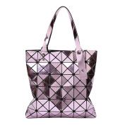 Women's Diamond Shoulder Bag Folded Geometric Handbag