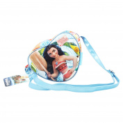 DISNEY OCEANIA OAR - Fashion Handbag with heart shape and Zip closure - Long shoulder strap Adjustable Shoulder Strap - Inner lining - Colour