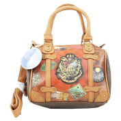 HARRY POTTER Railway - Bowling Bag with Shoulder Strap and Two Handles - Colour Brown